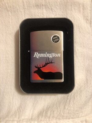 Zippo Lighter USA Remington Sunburst Elk 24027 NIB US151