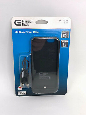 New Sealed iPhone 6/6s Battery Case 2800 mAh Commercial Electric Power Charger