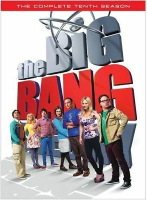 The Big Bang Theory Season 10 Brand New Sealed The Complete Tenth Season Dvd