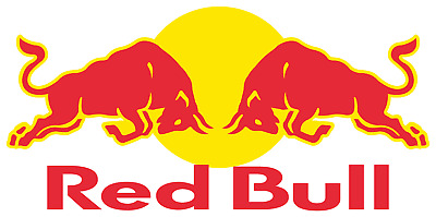 autocollant stickers formule 1 auto bike voiture ... RED BULL 110x51 mm
