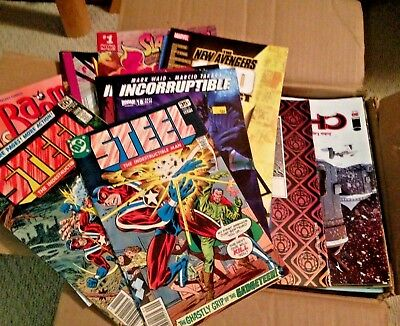 HUGE Lot of 175+ LOW GRADE DC MARVEL & INDEPENDENT Comic Books READING COPIES
