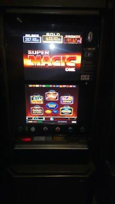 Geldspielautomat Super Magic One /  JVH mit Akzeptor