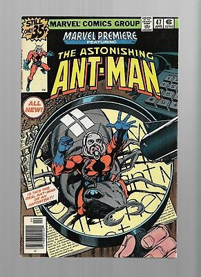 MARVEL PREMIERE Astonishing ANTMAN 47  9.2 / 9.4 Bronze Age Glossy Cover Comic