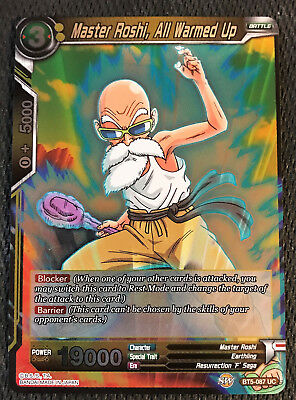 Forged of Will Foil TB1-076 UC Alternate Art Dragon Ball Super Master Roshi