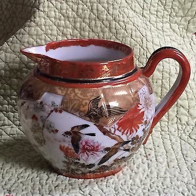 Antique Japanese Porcelain Pitcher