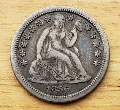 1856-O Seated Liberty Dime