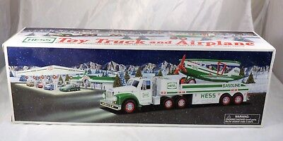 2002 Hess Collectibles Motorized Toy Truck and Airplane BRAND NEW SEALED