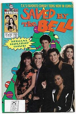 SAVED BY THE BELL HOLIDAY SPECIAL #1 (Harvey, 1992)
