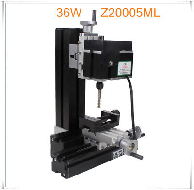 Mini Metal Milling Machine Woodworking 36W DIY Woodworking Motorized Tool Model