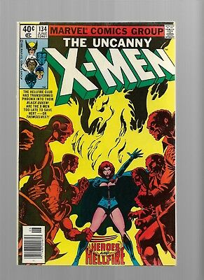 X-MEN 134 PHOENIX becomes DARK PHOENIX  9.4/9.6  Bronze Age Glossy Comic