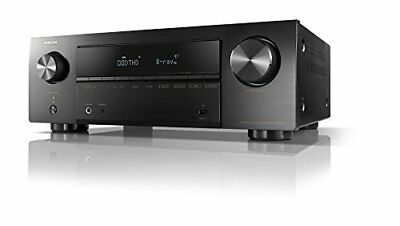 DENON AVR-X550BT AV Receiver 5.2ch 4K Ultra HD Black AC100V EMS w/ Tracking NEW