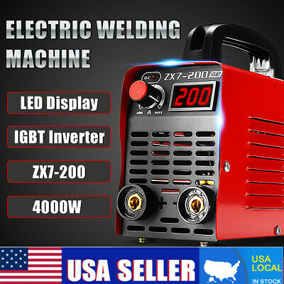 220V 10-200A 4000W Handheld MMA IGBT Inverter Electric ARC Welding Machine Tool