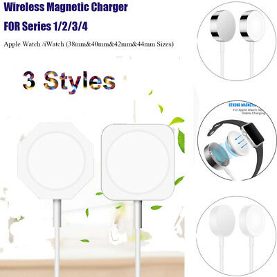 For Apple Watch iWatch Charging Cable Magnetic Charger 38 to 44mm Series 1/2/3/4