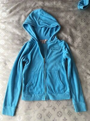 Juicy Couture Sky Blue 2 Piece Sweatsuit  For Girls,size 6x