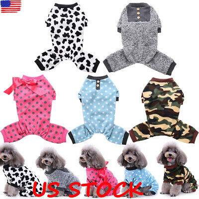 Pet Dog Warm Sweater Jumper Puppy Winter Clothes Coat Jecket Small Medium Large