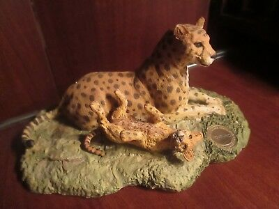 SPOTTED LEOPARD FAMILY, issue by The William Holden Wildlife Foundation