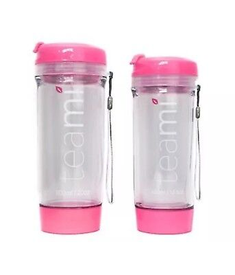 teami tumbler 600ml 20oz Hot/Cold New in Box : Pink
