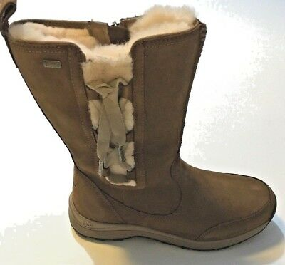 f8c61b33da4 UGG SUVI WATERPROOF Leather Women's Chestnut Boots Cold Weather -32C Size 8