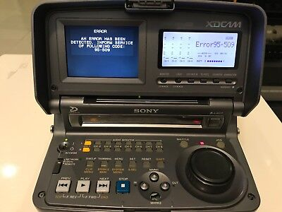 Sony PDW-V1 Professional Disc Recorder XDCAM - For Parts - Repair