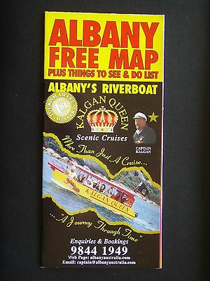 Albany Map Plus Things To See & Do List Map