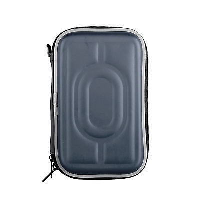 "2.5"" SSD HDD Storage Pouch External Portable Waterproof Protective Case Box Blue"