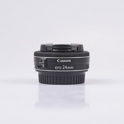 Canon EF-S 24mm f/2.8 STM Objetivo -  Negro
