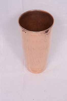 Handmade Pure Solid Copper Beer Or Wine Glass Cup or Mug or Drinking Water