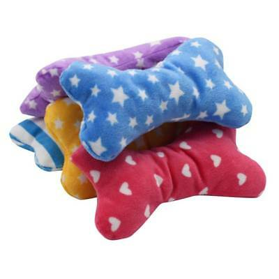 1pc Plush Pet Dog Sound Toys Bone Shape Puppy Cat Chew Squeaker Squeaky Toy hot