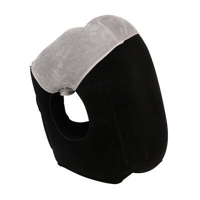 HAIYANLE Inflatable Air Travel Pillow Airplane Head Neck Rest Office Nap Rest