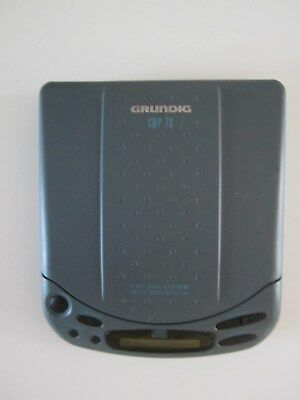 Baladeur Lecteur Portable Cd Player Walkman Grundig Model Cdp 70 Ultra Bass