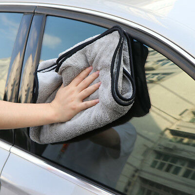 Car Home Wash Microfiber Towel Cleaning Drying Cloth Detailing Towel 100X40cm