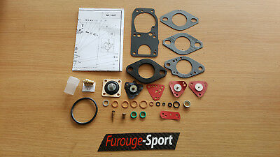 Super 5 GT Turbo - Kit N°8 pochette révision carburateur Solex 32 DIS