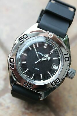 Russian Mechanical Automatic Wrist Watch VOSTOK AMPHIBIAN DIVER 670922