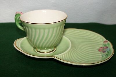 Vintage Crown Devon Tennis Cup & Saucer Excellent Condition