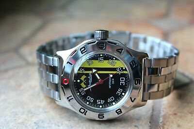 Russian Mechanical Automatic Wrist Watch VOSTOK AMPHIBIAN DIVER 100652