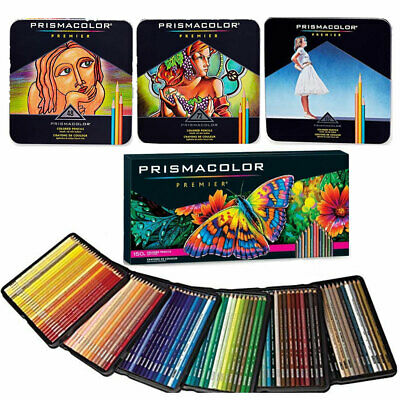 Prismacolor Premier Colored Pencils Soft Core 48 72 132 150 Count Worldwide