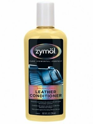 Zymol Leather Conditioner Seat Car Detailing Care 236ml