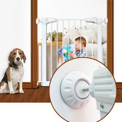 Baby Safety Gates Wall Cups Safety Wall Bumpers Guard Fit for Bottom of Gates