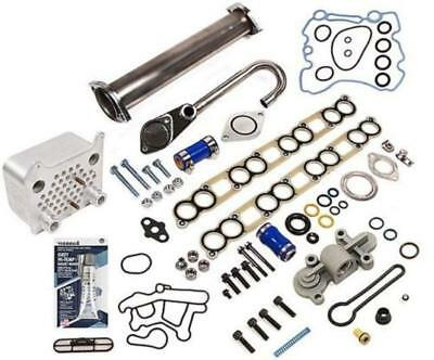 EGR Delete Kit Oil Cooler Gaskets Blue Spring Upgrade 03-10 Ford 6.0 Powerstroke