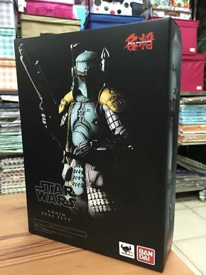 7'' Star Wars Ronin Samurai Boba Fett Meisho Movie Realization Action Figure New