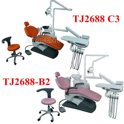 Dental Treatment Integral Unit Chair Computer Controlled with Doctor Stool UK
