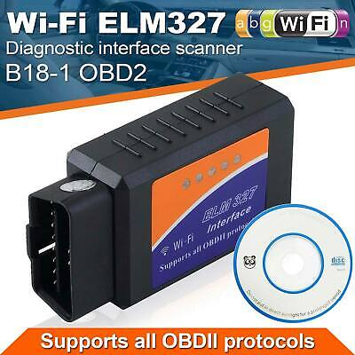 ELM327 WiFi OBD2 Auto Diagnose Scanner Codeleser Für alle iOS & Android
