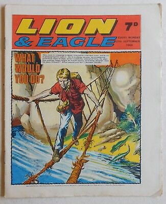LION and EAGLE Comic - 27th September 1969