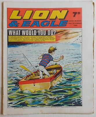 LION and EAGLE Comic - 29th November 1969