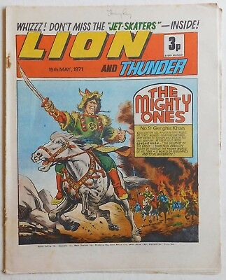 LION and THUNDER Comic - 15th May 1971