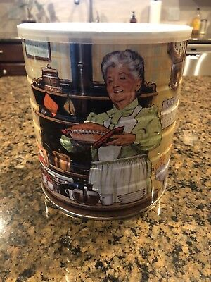 Maxwell House Collectibles Vintage Grandparents Coffee Tin 1993