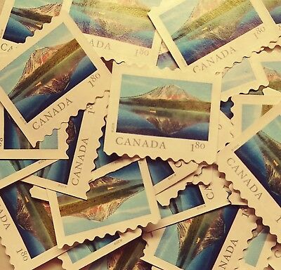 50 Canada uncancelled $1.80 used postage stamps