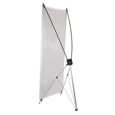 """Church X - Stand Banner Stand 23"""" W x 64""""H w/ Case For Display Banners (MS255)"""