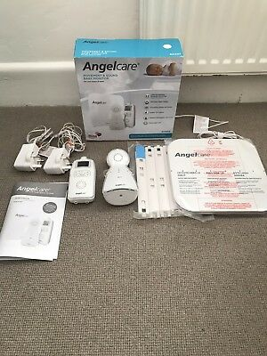 Angelcare AC403 baby monitor with movement and sound detection - fully boxed