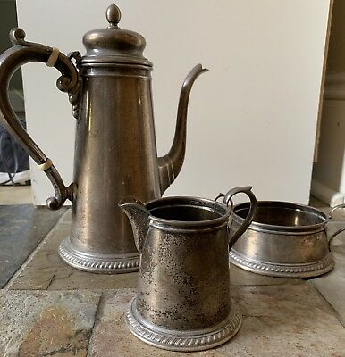 Coffee/Tea Set, Sterling Silver Reed and Barton